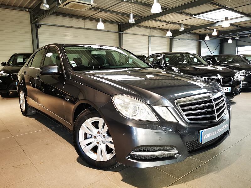 Mercedes-Benz CLASSE E (W212) 220 CDI BE AVANTGARDE EXECUTIVE BA Diesel GRIS Occasion à vendre
