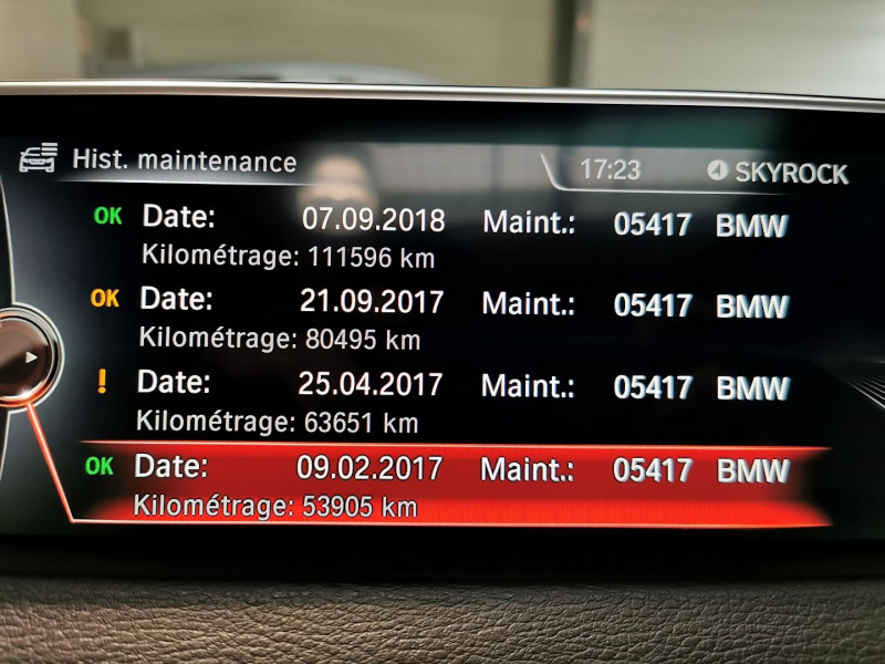 Photo 27 de l'offre de BMW X5 (F15) XDRIVE40DA 313CH M SPORT à 31990€ chez Occasions Champenoises