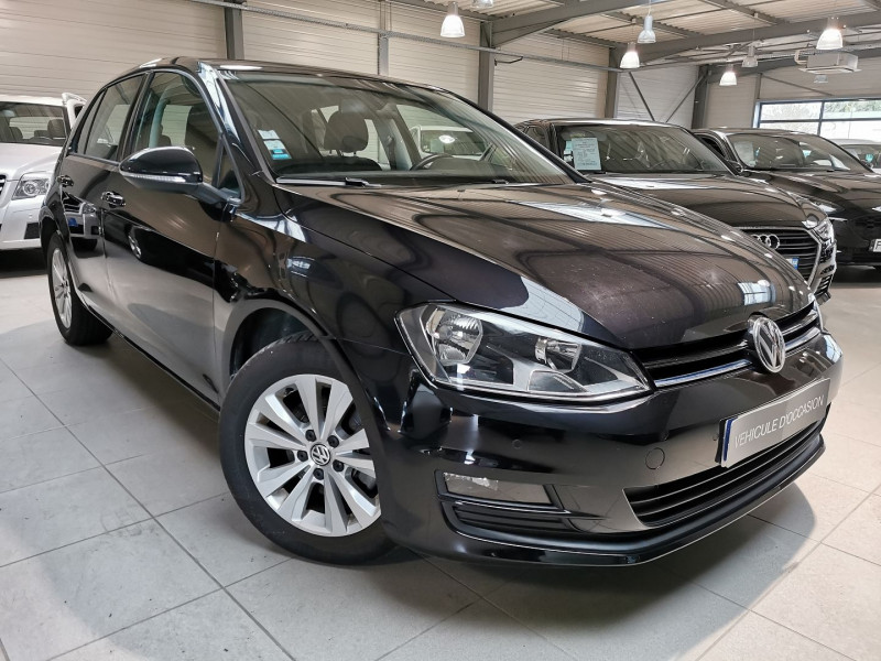Volkswagen GOLF VII 2.0 TDI 150CH BLUEMOTION TECHNOLOGY FAP CONFORTLINE DSG6 5P Diesel NOIR Occasion à vendre