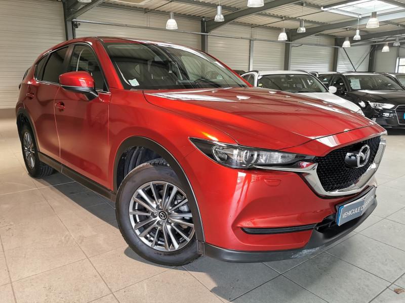 Mazda CX-5 2.2 SKYACTIV-D 150 ELEGANCE 4X2 Diesel ROUGE Occasion à vendre