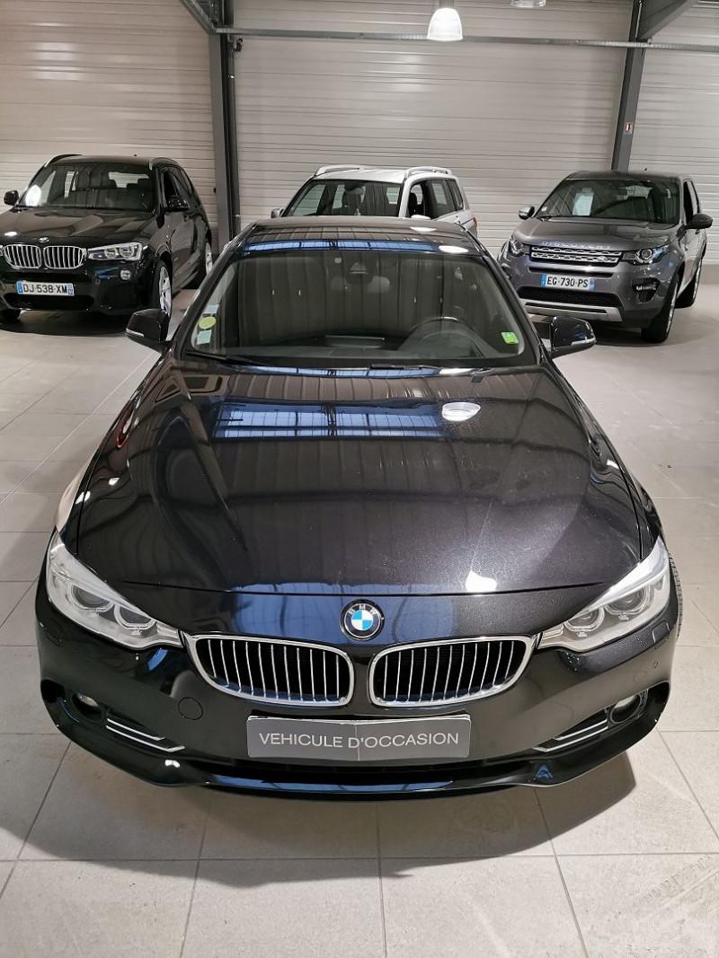 Photo 3 de l'offre de BMW SERIE 4 GRAN COUPE (F36) 418DA 150CH LUXURY à 16490€ chez Occasions Champenoises