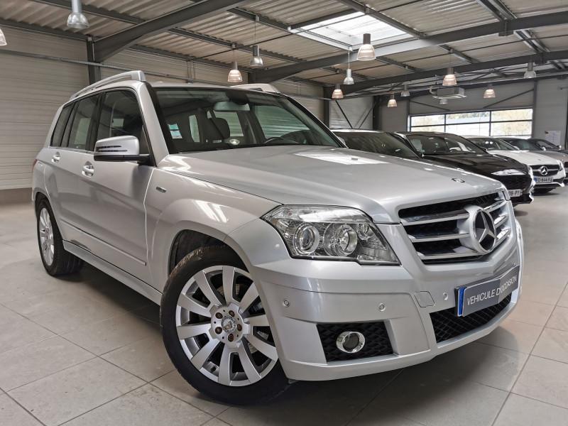 Mercedes-Benz CLASSE GLK (X204) 220 BLUETEC 4MATIC 7GTRONIC + Diesel GRIS Occasion à vendre
