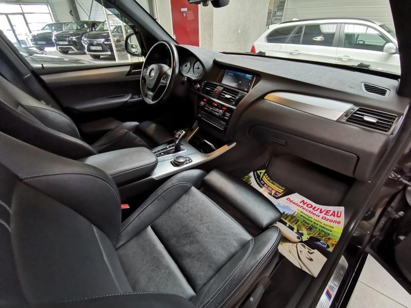 Photo 13 de l'offre de BMW X3 (F25) XDRIVE35DA 313CH M SPORT à 26990€ chez Occasions Champenoises