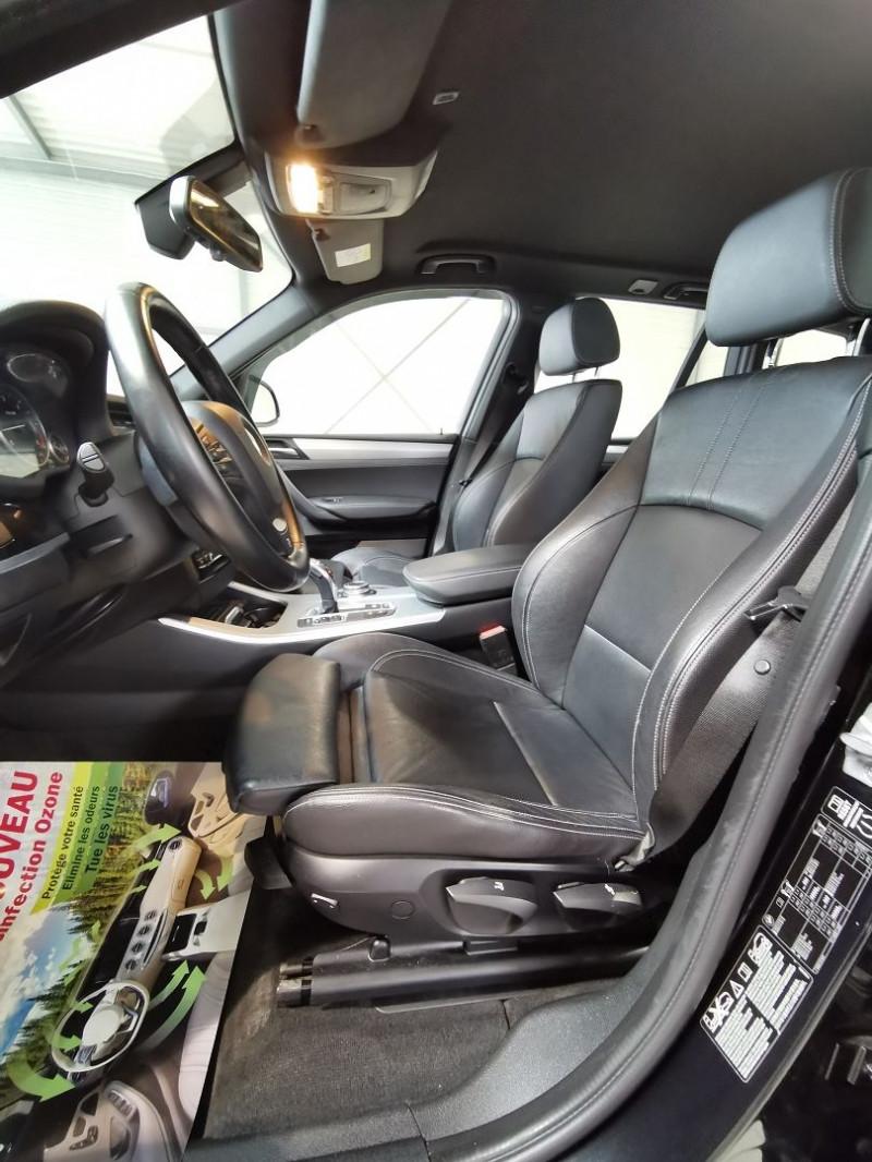 Photo 7 de l'offre de BMW X3 (F25) XDRIVE35DA 313CH M SPORT à 26990€ chez Occasions Champenoises