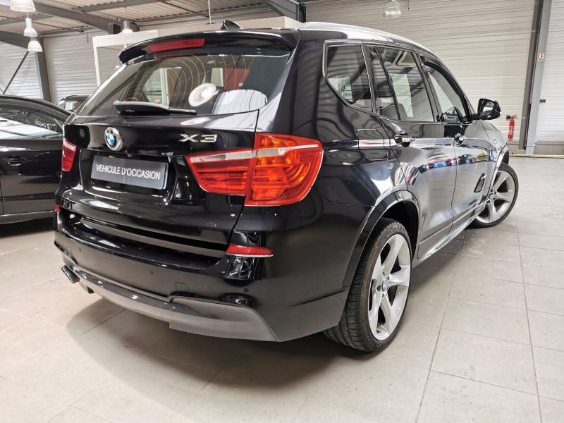 Photo 6 de l'offre de BMW X3 (F25) XDRIVE35DA 313CH M SPORT à 26990€ chez Occasions Champenoises