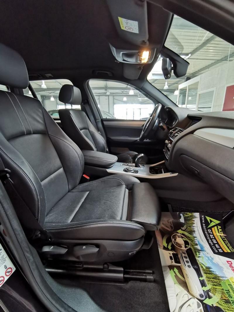 Photo 12 de l'offre de BMW X3 (F25) XDRIVE35DA 313CH M SPORT à 26990€ chez Occasions Champenoises