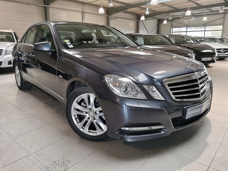 Mercedes-Benz CLASSE E (W212) 220 CDI BE AVANTGARDE EXECUTIVE 7GTRO+ Diesel GRIS F Occasion à vendre