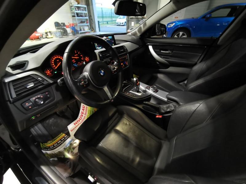 Photo 8 de l'offre de BMW SERIE 4 GRAN COUPE (F36) 418DA 150CH LUXURY à 16490€ chez Occasions Champenoises