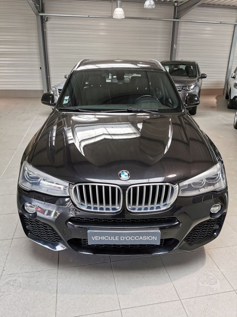 Photo 3 de l'offre de BMW X3 (F25) XDRIVE35DA 313CH M SPORT à 26990€ chez Occasions Champenoises