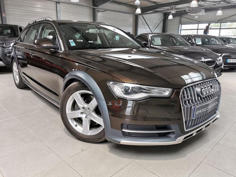 Audi A6 ALLROAD 3.0 V6 TDI 272CH AMBITION LUXE QUATTRO S TRONIC 7 Diesel MARRON Occasion à vendre