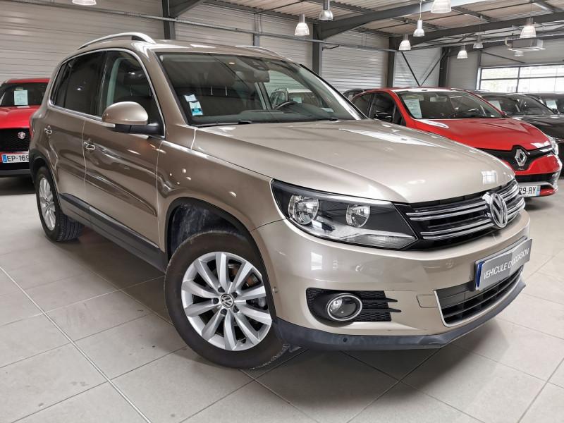 Volkswagen TIGUAN 2.0 TDI 140CH BLUEMOTION TECHNOLOGY FAP SPORTLINE Diesel BEIGE Occasion à vendre