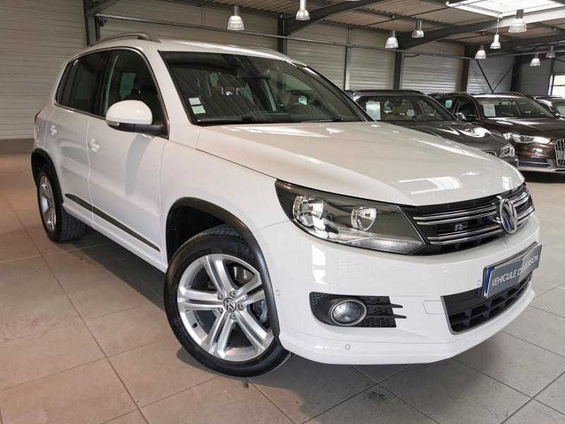 Volkswagen TIGUAN 2.0 TDI 140CH BLUEMOTION TECHNOLOGY FAP SPORTLINE 4MOTION DSG7 Diesel BLANC Occasion à vendre