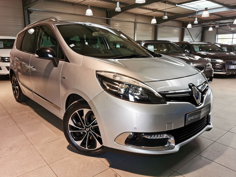 Renault GRAND SCENIC III 1.6 DCI 130CH ENERGY BOSE ECO² 7 PLACES 2015 Diesel GRIS C Occasion à vendre
