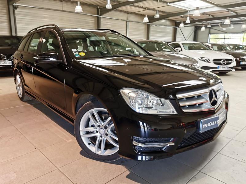 Mercedes-Benz CLASSE C BREAK (S204) 180 CDI SPORTLINE 7G-TRONIC + Diesel NOIR Occasion à vendre