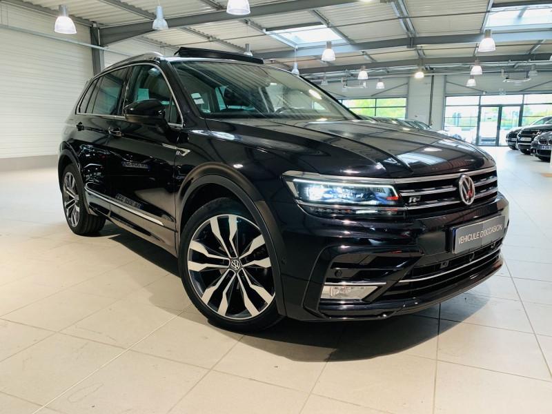 Volkswagen TIGUAN 2.0 TDI 150CH BLUEMOTION TECHNOLOGY CARAT EXCLUSIVE DSG7 Diesel NOIR Occasion à vendre