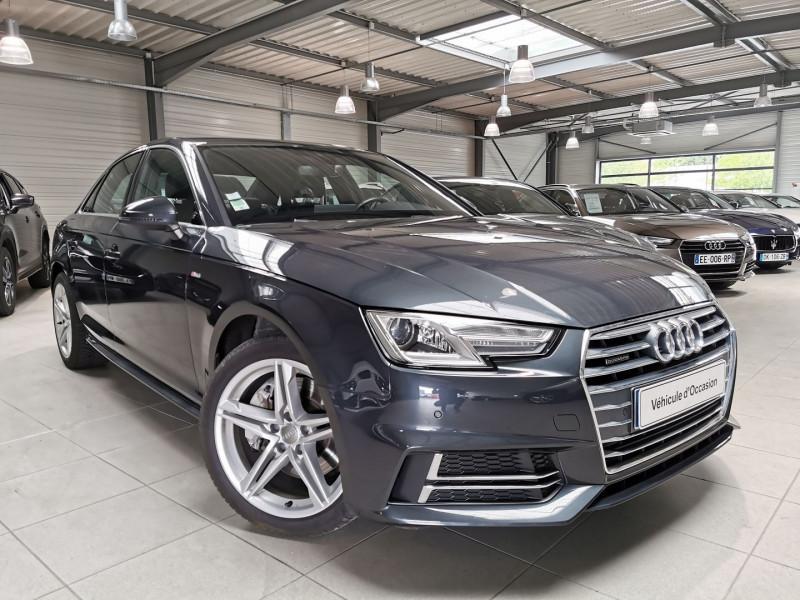 Audi A4 3.0 V6 TDI 272CH S LINE QUATTRO TIPTRONIC Diesel GRIS F Occasion à vendre
