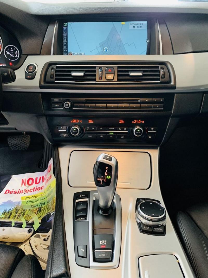 Photo 6 de l'offre de BMW SERIE 5 TOURING (F11) 530DA 258CH LOUNGE PLUS à 25990€ chez Occasions Champenoises