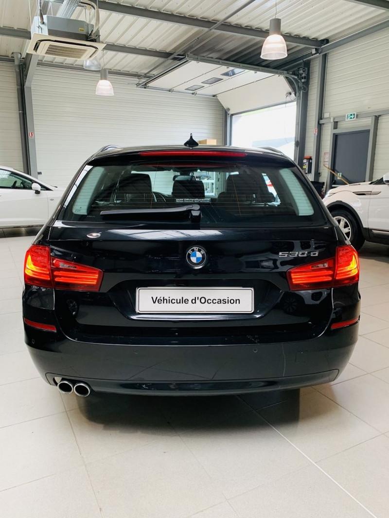 Photo 17 de l'offre de BMW SERIE 5 TOURING (F11) 530DA 258CH LOUNGE PLUS à 25990€ chez Occasions Champenoises