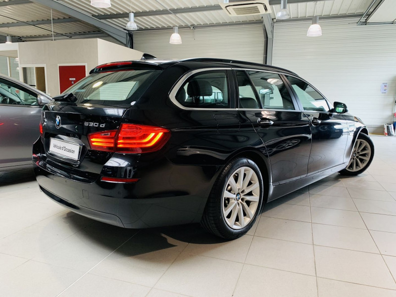 Photo 18 de l'offre de BMW SERIE 5 TOURING (F11) 530DA 258CH LOUNGE PLUS à 25990€ chez Occasions Champenoises