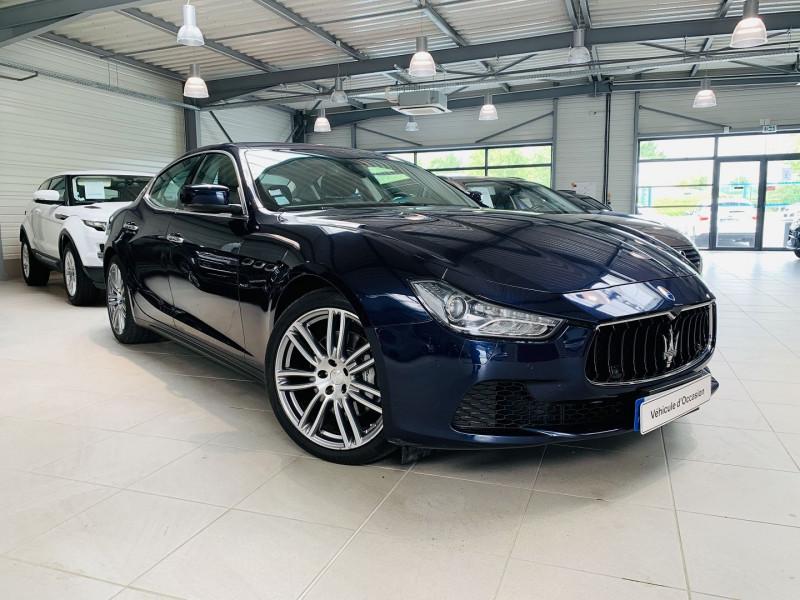 Maserati GHIBLI 3.0 V6 275CH START/STOP DIESEL Diesel BLEU Occasion à vendre