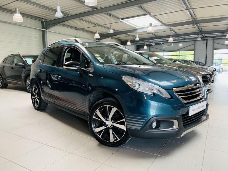 Peugeot 2008 1.6 BLUEHDI 100CH URBAN CROSS Diesel BLEU F Occasion à vendre