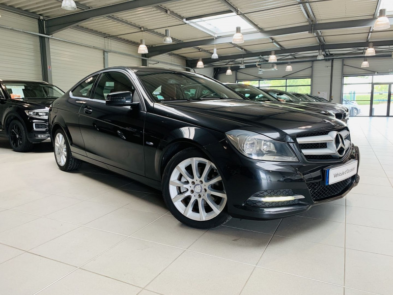 Mercedes-Benz CLASSE C COUPE (C204) 250 CDI EXECUTIVE Diesel NOIR Occasion à vendre