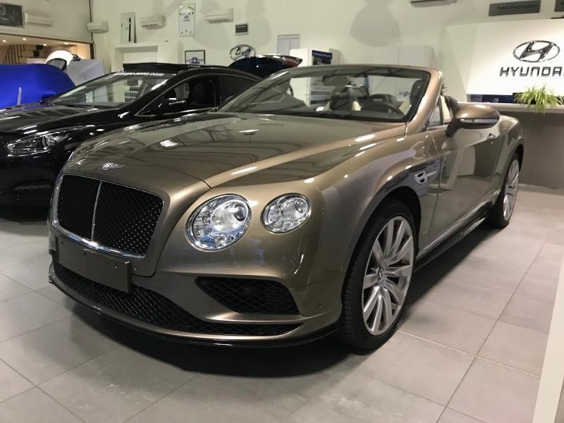 Bentley Continental GTC V8 4.0 S Essence marron Occasion à vendre