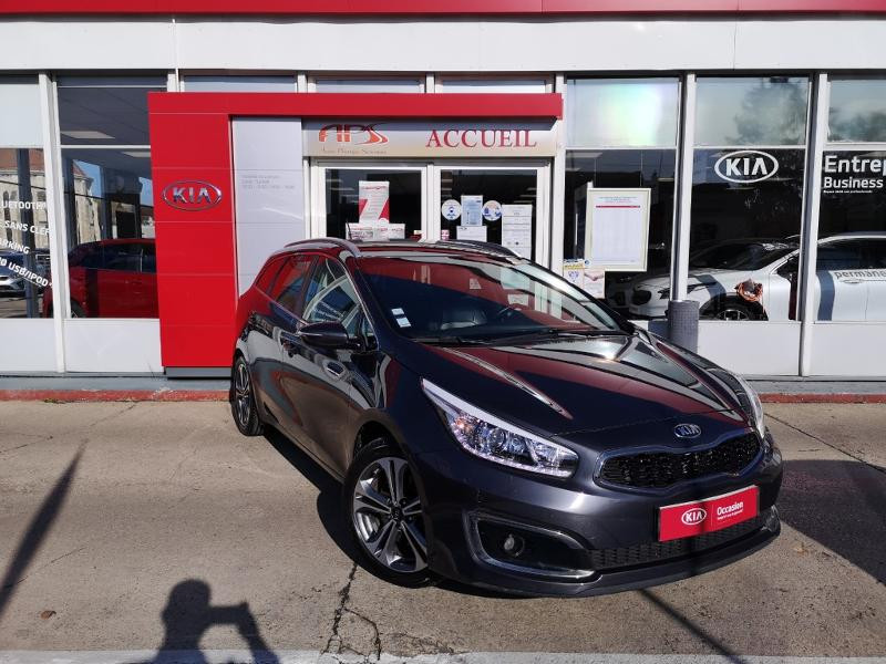 Kia Cee'd SW 1.6 CRDi 136ch ISG Premium DCT7 Diesel Gris Foncé Métal Occasion à vendre