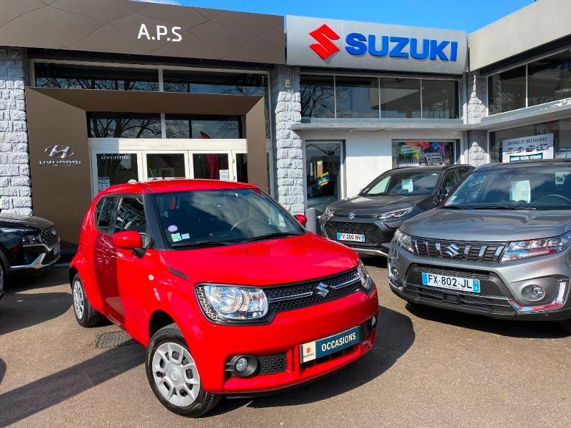 Suzuki Ignis 1.2 Dualjet 90ch Avantage Essence ROUGE Occasion à vendre