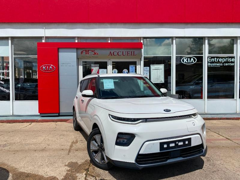 Kia e-Soul Premium 204ch Electrique Blanc Métal Occasion à vendre