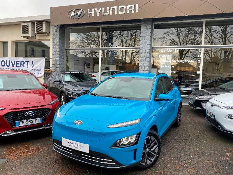 Hyundai Kona Electric 204ch Executive Electrique Bleu Clair Métal Neuf à vendre