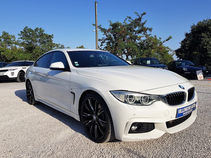Photo 2 de l'offre de BMW SERIE 4 GRAN COUPE (F36) 430DA 258CH M SPORT à 26490€ chez Villeneuve Auto