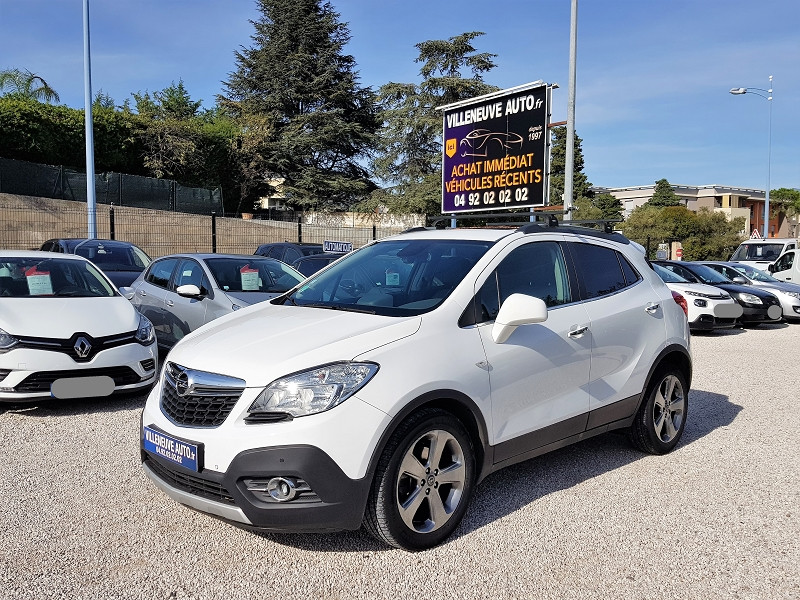 Opel MOKKA 1.4 TURBO 140CH COSMO PACK START&STOP 4X2 Essence BLANC Occasion à vendre