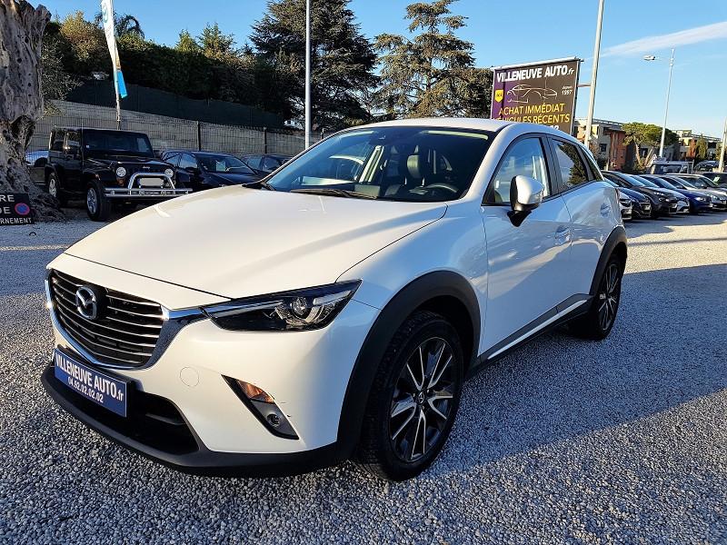 Mazda CX-3 1.5 SKYACTIV-D 105 DYNAMIQUE Diesel BLANC Occasion à vendre