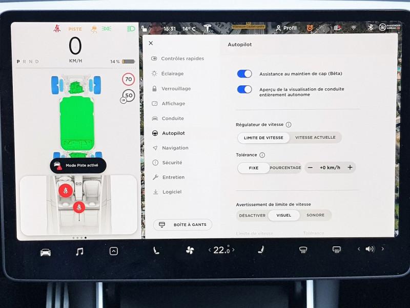 Photo 17 de l'offre de TESLA MODEL 3 PERFORMANCE PUP AWD UPGRADE à 54900€ chez Villeneuve Auto