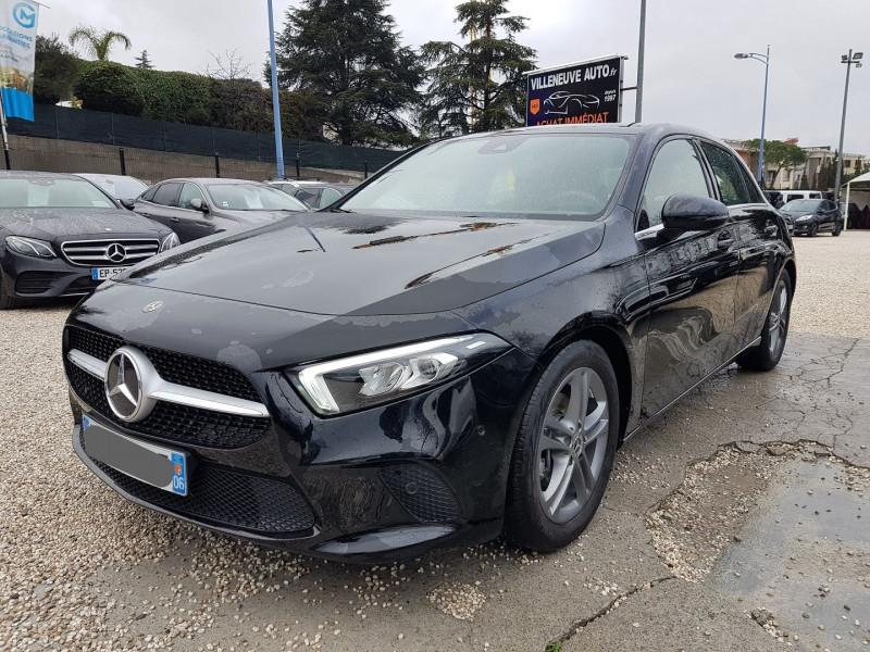 Mercedes-Benz CLASSE A BERLINE 180 D 116CH BUSINESS LINE 7G-DCT Diesel NOIR Occasion à vendre