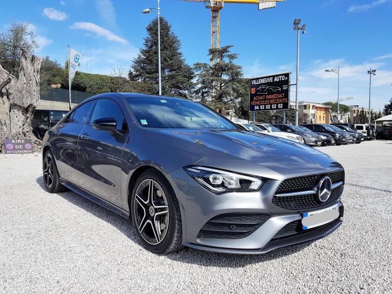 Mercedes-Benz CLA (C117) 180 D 116CH AMG LINE 7G-DCT Diesel GRIS F Occasion à vendre