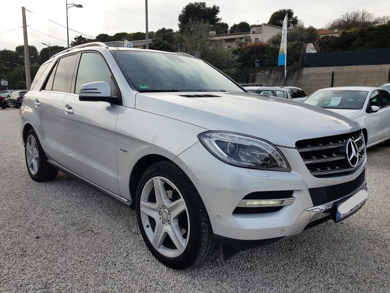 Mercedes-Benz CLASSE ML (W166) 350 BLUETEC EDITION 1 7G-TRONIC + Diesel GRIS  Occasion à vendre