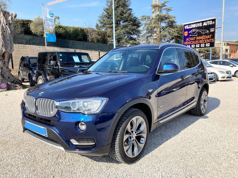 Photo 7 de l'offre de BMW X3 (F25) XDRIVE20DA 190CH XLINE à 31500€ chez Villeneuve Auto