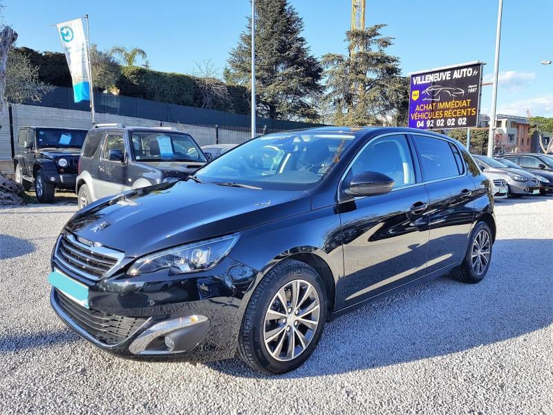 Peugeot 308 1.6 BLUEHDI 120CH ALLURE S&S 5P Diesel NOIR Occasion à vendre