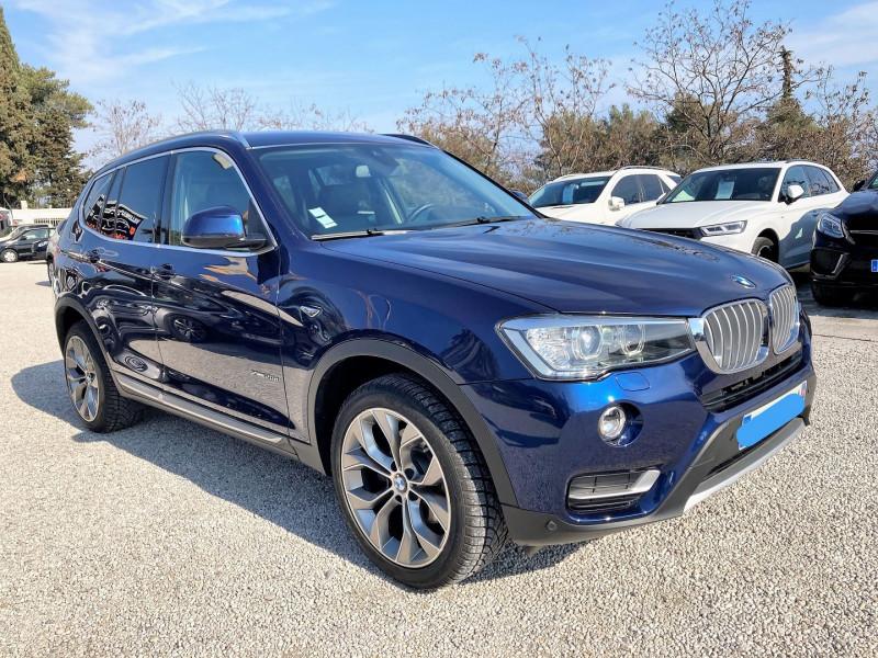 Photo 1 de l'offre de BMW X3 (F25) XDRIVE20DA 190CH XLINE à 31500€ chez Villeneuve Auto