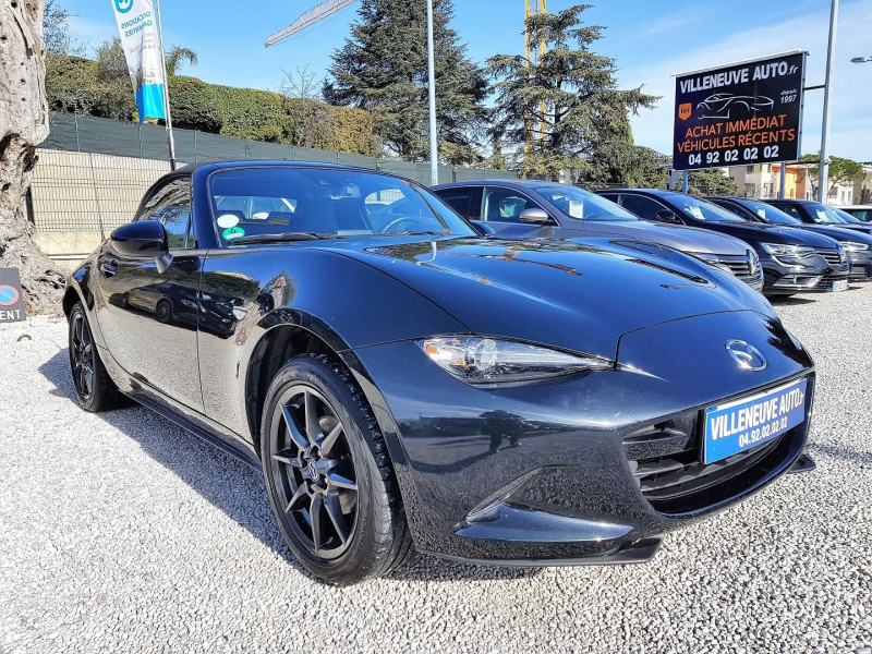 Mazda MX-5 1.5 SKYACTIV-G 131 SELECTION Essence NOIR Occasion à vendre
