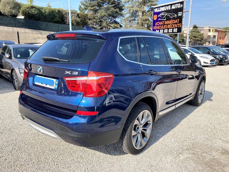 Photo 5 de l'offre de BMW X3 (F25) XDRIVE20DA 190CH XLINE à 31500€ chez Villeneuve Auto