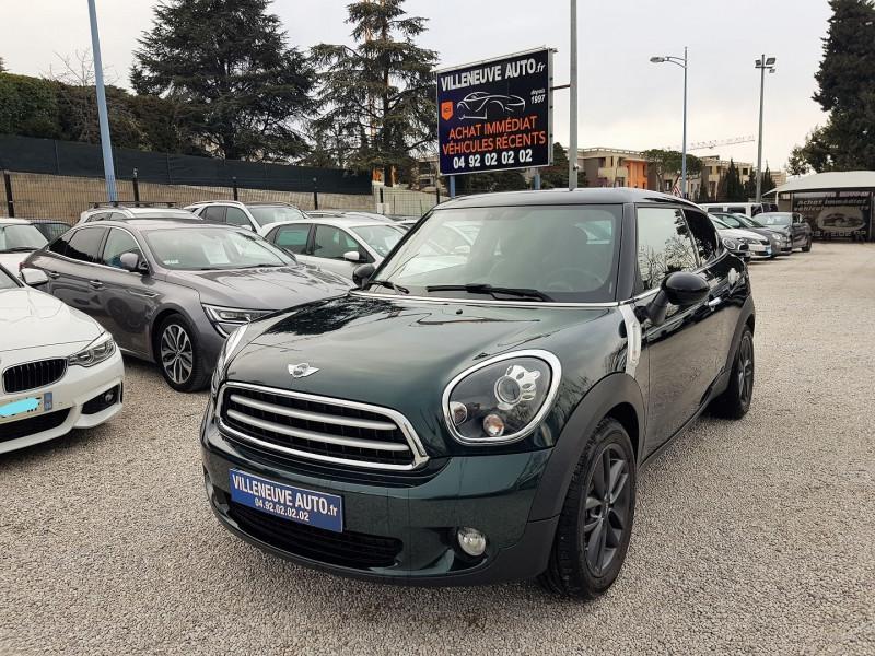 Mini PACEMAN COOPER D 112CH PACK CHILI Diesel VERT F Occasion à vendre