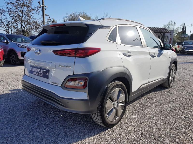 Photo 3 de l'offre de HYUNDAI KONA ELECTRIC 136CH CREATIVE EURO6D-T EVAP à 23900€ chez Villeneuve Auto