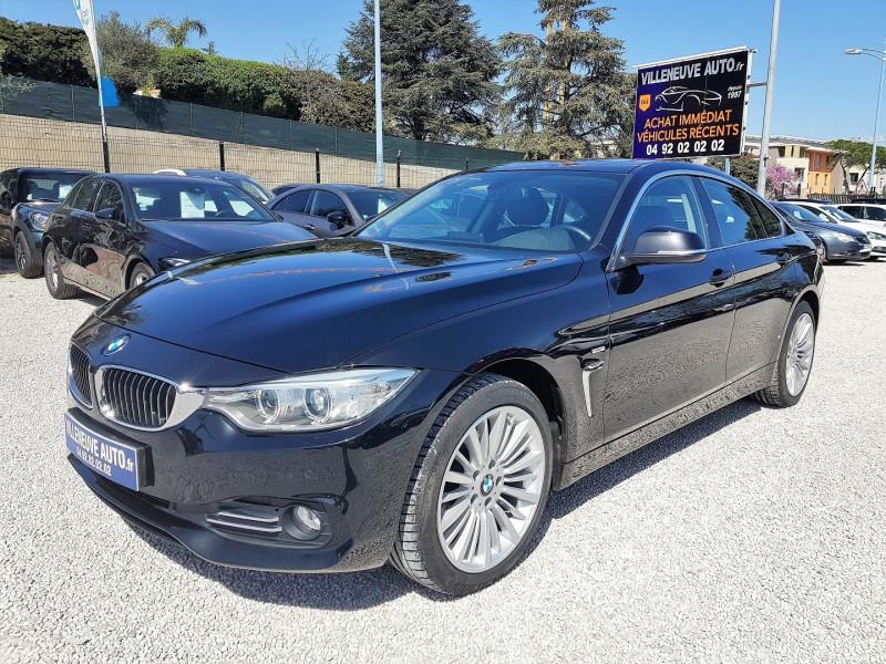 Photo 1 de l'offre de BMW SERIE 4 GRAN COUPE (F36) 420DA XDRIVE 190CH LUXURY à 24900€ chez Villeneuve Auto