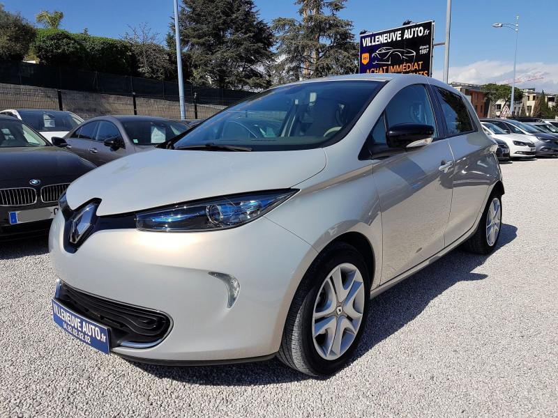 Renault ZOE ZEN CHARGE RAPIDE Q90 Electrique GRIS NACRE Occasion à vendre