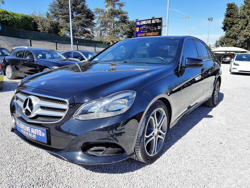 Mercedes-Benz CLASSE E (W212) 200 BLUETEC SPORTLINE 7G-TRONIC PLUS Diesel NOIR Occasion à vendre