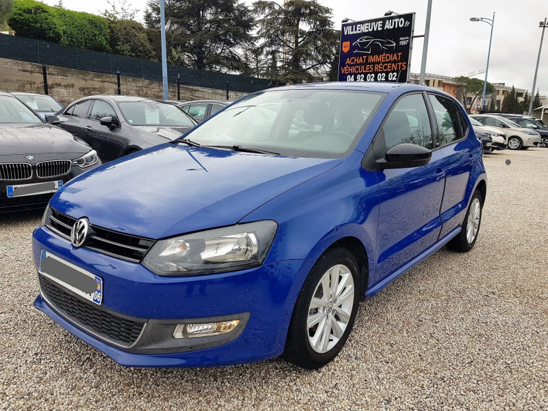 Volkswagen POLO 1.6 TDI 90CH BLUEMOTION FAP STYLE 5P Diesel BLEU Occasion à vendre