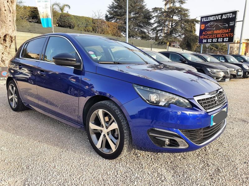 Peugeot 308 1.2 PURETECH 130CH GT LINE S&S 5P Essence BLEU F Occasion à vendre